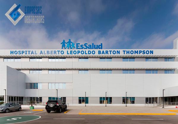 hospital leopoldo barton por la empresa de mauricio toledano
