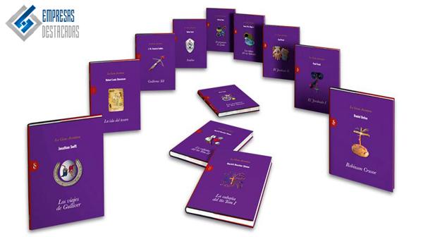 Los tomos de Signo editores sobre el género de aventuras